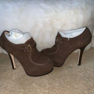 NEW! Michael Kors Suede Platform Heels Size 9
